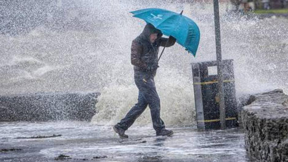 Met Éireann said the three days until New Year's Eve will be very unsettled. Photo: stock image