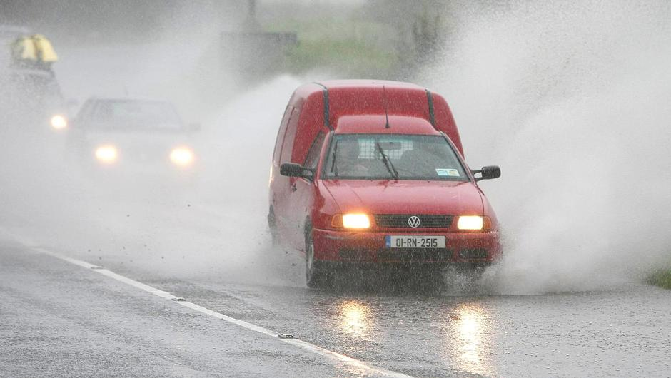 Heavy rain is expected across the country