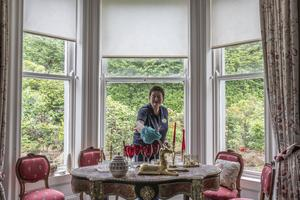 Miriam Mulcahy of Ballinwillin House Farm, Mitchelstown, Co Cork at work in the BnB.  Picture: Clare Keogh