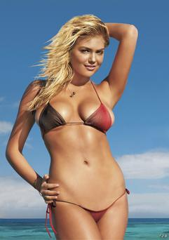 Kate Upton is rumoured to be dating P.Diddy