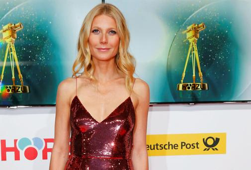 Gwyneth Paltrow struts her stuff at the Goldene Kamera awards ceremony in Berlin last month
