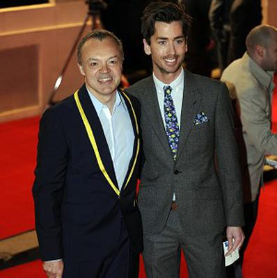 Graham Norton and his ex-partner Trevor Patterson
