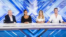 Cheryl and Mel B apparently treated Simon Cowell to a lap dance at the latest round of X Factor auditions