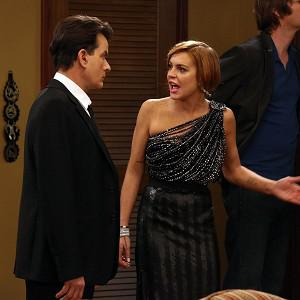Lindsay Lohan guest stars with Charlie Sheen in Anger Management