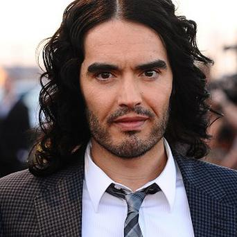 Russell Brand attends the same yoga class as Demi Moore
