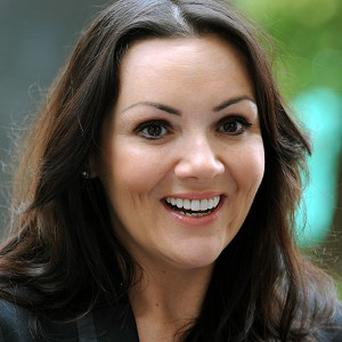 Martine McCutcheon said she was touched by the messages of support from fans