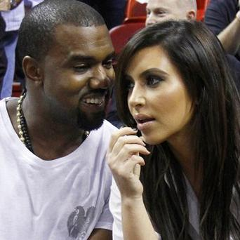 Kanye West and Kim Kardashian were allowed past a security checkpoint at JFK