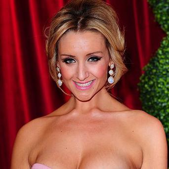 Catherine Tyldesley took to Twitter to defend her donation