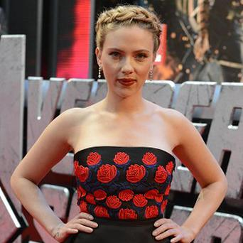 Scarlett Johansson was snapped wearing what looked like an engagement ring