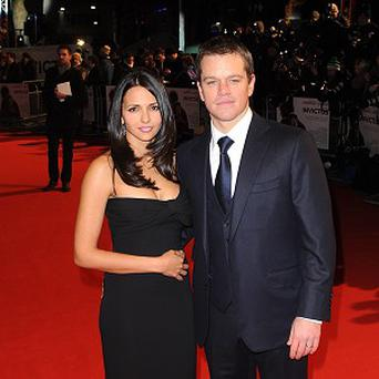 Matt Damon and Luciana Barroso are planning another wedding celebration