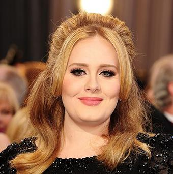 Adele is said to have struck up a friendship with fellow Oscar winner Jennifer Lawrence