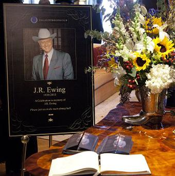 The late Larry Hagman and his character JR Ewing were honoured in the special episode of Dallas