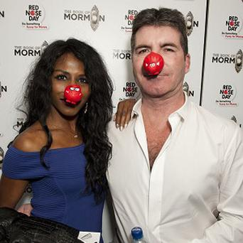 Simon Cowell and Sinitta attended the special performance of The Book Of Mormon