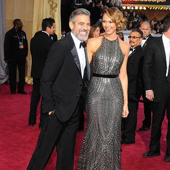 George Clooney and Stacy Keibler are thought to have split