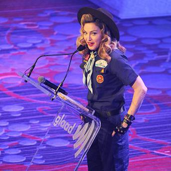 Madonna made a point with her Scout outfit