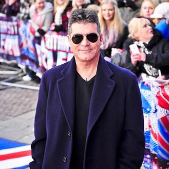 Simon Cowell revealed his eating habits aboard his private jet