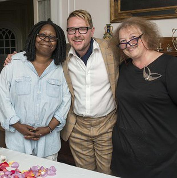 Whoopi A Fan Of Four Letter Words Whoopi Goldberg Challenged Choccywoccydoodahs Dave Ratcliffe And Christine Taylor To Bake For Her