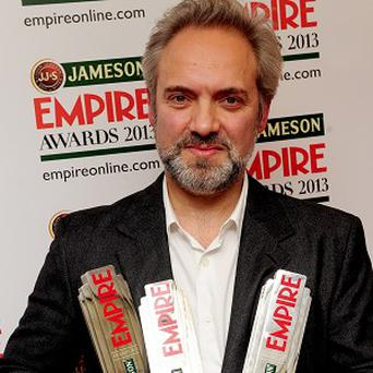 Sam Mendes won three gongs at the Jameson Empire Awards 2013