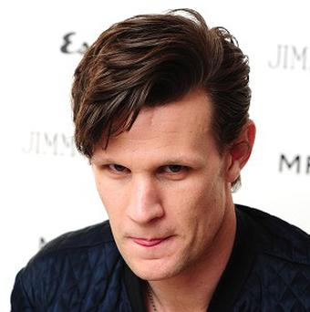 Matt Smith has been bulking up in the gym