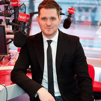 Michael Buble is good pals with Robbie Williams