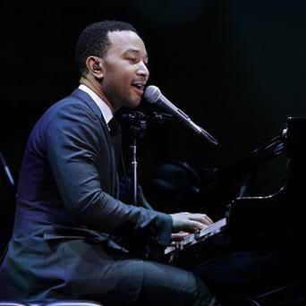 John Legend would be up for a duet with Beyonce at the special Twickenham concert