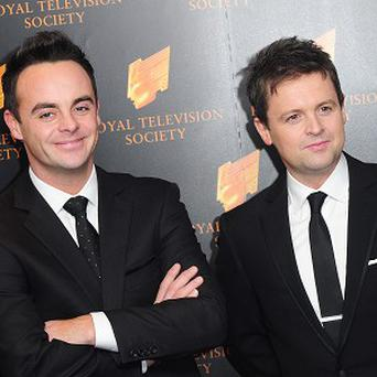 Ant and Dec are on course for a number one this weekend
