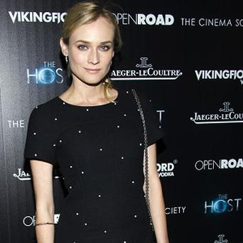Diane Kruger fell for Joshua Jackson's humour and intelligence