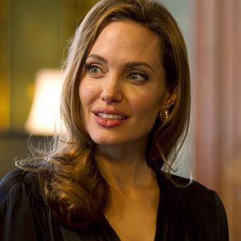 Angelina Jolie made her announcement in the New York Times yesterday