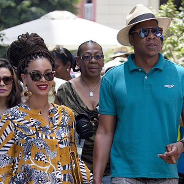 Jay-Z visited Cuba with his wife Beyonce