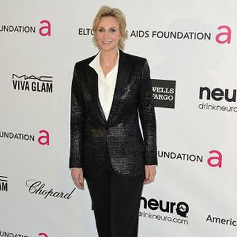 Jane Lynch was surprised by the reaction to the Glee school shooting episode