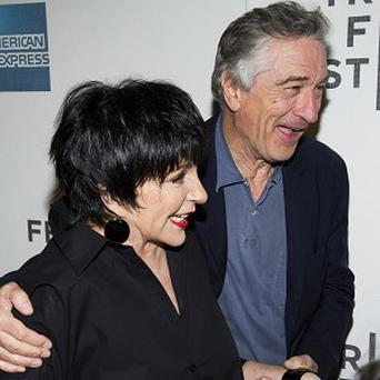 Liza Minnelli and Robert De Niro were reunited on the red carpet