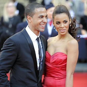 Marvin and Rochelle Humes are expecting their first child
