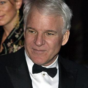 Steve Martin has been talking about becoming a dad