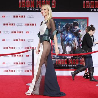 Gwyneth Paltrow's decision to step out sans underwear at the premiere of Iron Man 3 in LA has her fans divided.