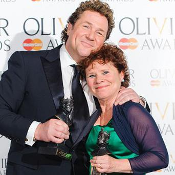 Sweeney Todd pair Michael Ball and Imelda Staunton picked up gongs at the Oliviers
