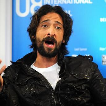Adrien Brody will play Harry Houdini on the small screen