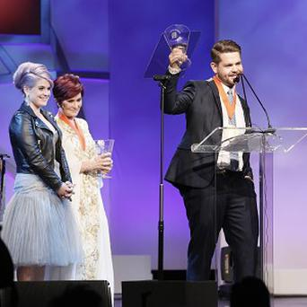 Kelly, Sharon and Jack Osbourne were united at the MS event in the US