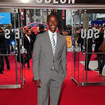 Don Cheadle took part in the celebrity golf tournament in LA