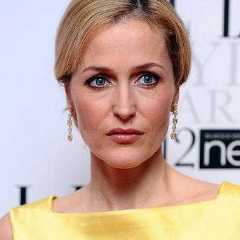 Gillian Anderson is based in the UK