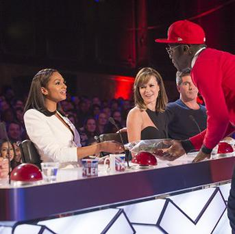 BGT hopeful Manni rapped about judge Alesha Dixon's beauty