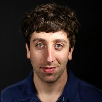 Simon Helberg plays a science geek in The Big Bang Theory