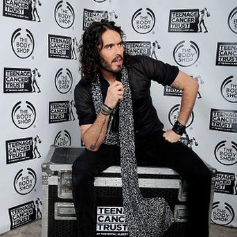 Russell Brand fancies himself as the next Doctor Who