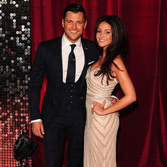 Mark Wright and Michelle Keegan like a night in with a takeaway