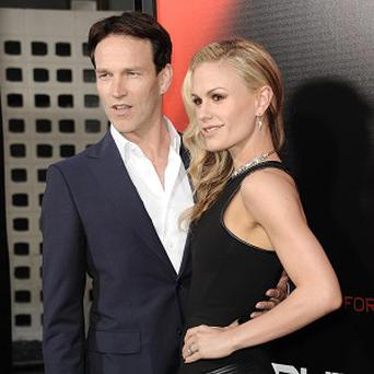 Stephen Moyer and Anna Paquin attended the LA premiere of True Blood Season Six