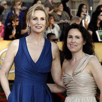 Jane Lynch and Lara Embry are getting a divorce