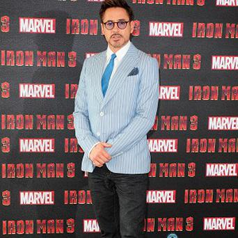 Robert Downey Jr is filming new movie The Judge in Massachusetts