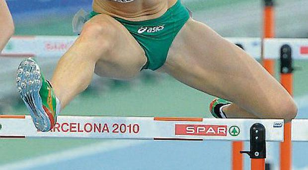 Derval O'Rourke has a heel and Achilles injury
