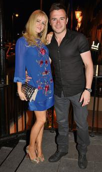 Shane Filan and his wife Gillian