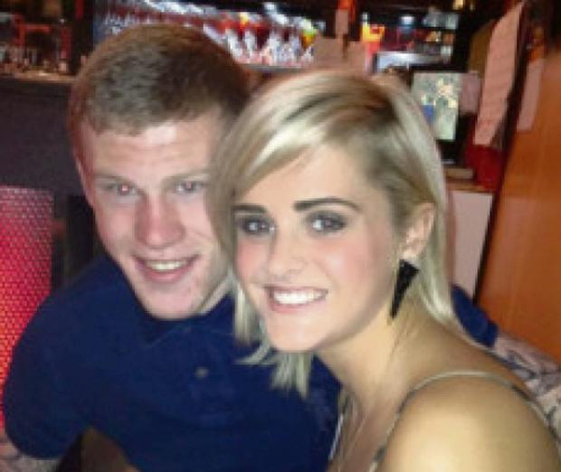 James McClean and fiancée Erin Connor