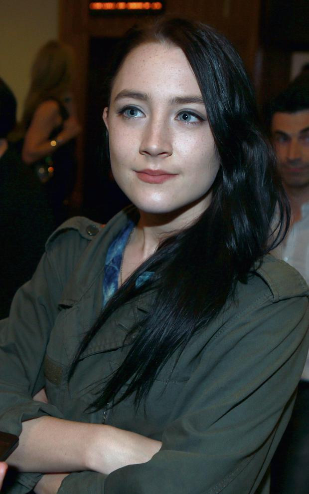 Saoirse Ronan was in Dublin for the premiere of 'Now You See Me'